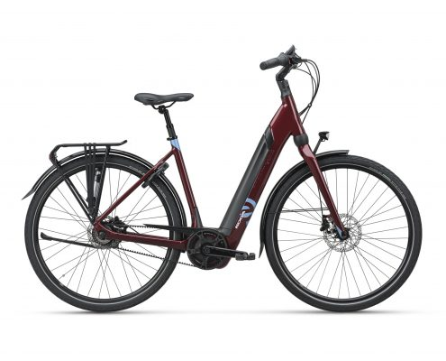 koga e-nova evo pt dames cherry red